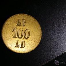 Monedas locales: FICHA O MONEDA O VALE EPOCA ALFONSO XIII O REPUBLICA. Lote 44155972