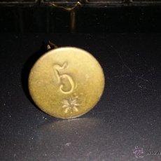 Monedas locales: FICHA O MONEDA O VALE EPOCA ALFONSO XIII O REPUBLICA. Lote 44156051