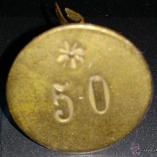 Monedas locales: FICHA O MONEDA O VALE EPOCA ALFONSO XIII O REPUBLICA. Lote 44156113