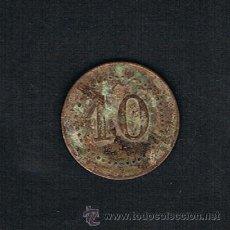 Monedas locales: FICHA A CLASIFICAR; 10 CTS. VER FOTOS. Lote 44212779