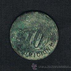Monedas locales: FICHA A CLASIFICAR; 10 CTS;CONSUMICION; VER FOTOS. Lote 44212818