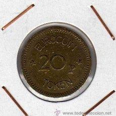 Monedas locales: TOKEN 20 PENCE EUROCOIN ( REINO UNIDO ) MBC. Lote 44490645