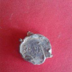 Monedas locales: ANTIGUO MARCHAMO DE PLOMO. RENFE, LERIDA 219. . Lote 45054273