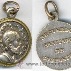Monedas locales: MEDALLA SANTIAGO APOSTOL DE COMPOSTELA. Lote 45253927