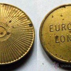 Monedas locales: FICHA EUROCOIN LONDON. Lote 46174756