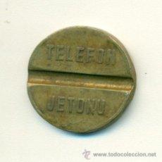 Monedas locales: FICHA DE TELÉFONO DE TURQUÍA. Lote 46291826