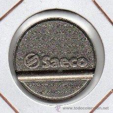 Monedas locales: BONITA FICHA COMERCIAL SAECO ( ITALIA ) MBC+. Lote 46407652