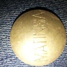 Monedas locales: FICHA BONOS MATINSA. Lote 46487882