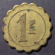 Monedas locales: FICHA DE 1 PESETA. Lote 46933230
