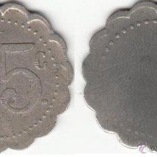 Monedas locales: FICHA 25 C . Lote 47191418