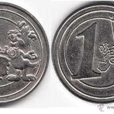 Monedas locales: FICHA BIZKAIA - 1 EURO GARBI. Lote 47191467