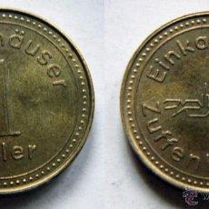 Monedas locales: FICHA O TOKEN 1 TALER. Lote 48373435