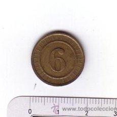 Monedas locales: ANTIGUA FICHA.METAL-LATÓN.. Lote 48915290