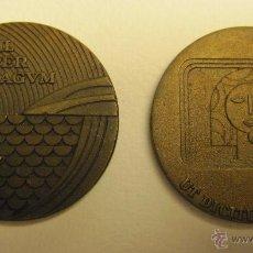 Monedas locales: DOS MEDALLAS COMPAÑIA TELEFONICA NACIONAL DE ESPAÑA. 1973 Y 1977. DIAM. 4 CM. Lote 49430162