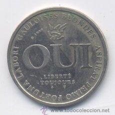 Monedas locales: JETON FRANCES-QUI-GAULOISES BLONDES ASPIRAT PRIMO FORTNA-NON-IGNIS AURUM PROBAT. Lote 50089771