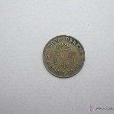 Monedas locales: SOCIEDAD COOPERATIVA OBRERA SAN JUAN DE HORTA. Lote 50404520