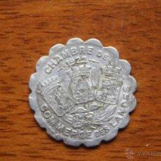 Monedas locales: CAMARA DE COMERCIO DE LAS LANDAS-1922. Lote 50596385