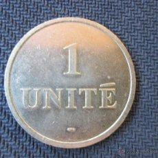 Monedas locales: FICHA 1 UNITE. Lote 50946722