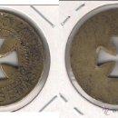 Monedas locales: FICHA DE 2 PESETAS DE ANTONIO SOLANES CRUZ VACIA. (C23).. Lote 51061595