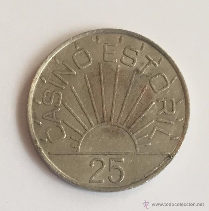 Monedas locales: FICHA CASINO ESTORIL - 25 - Foto 2 - 51079150