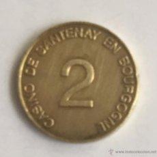 Monedas locales: CASINO DE SANTENAY - 2 - BOURGONNE. Lote 51079276