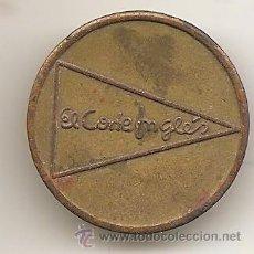 Monedas locales: FICHA DE EL CORTE INGLÉS. Lote 51351087