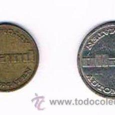 Monedas locales: LOTE DOS FICHAS DINERARIAS MONEDA EMPRESA AUTOMATEN HOLLAND DINERO COMERCIAL. Lote 51563044
