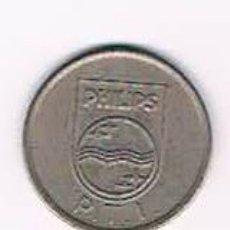 Monedas locales: FICHA DINERARIA MONEDA EMPRESA PHILIPS DINERO COMERCIAL. Lote 51563172
