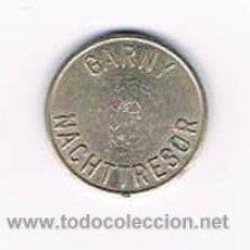 Monedas locales: FICHA DINERARIA MONEDA EMPRESA GARNY NACHTTRESOR DINERO COMERCIAL. Lote 51563590