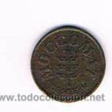 Monedas locales: FICHA DINERARIA MONEDA EMPRESA MOCCOMAT DE MEERN DINERO COMERCIAL. Lote 51563729