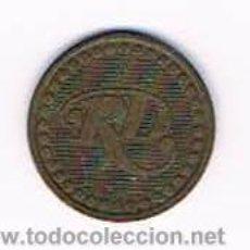 Monedas locales: FICHA DINERARIA MONEDA EMPRESA RD DINERO COMERCIAL. Lote 51563972
