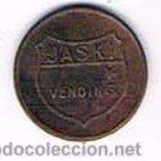 Monedas locales: FICHA DINERARIA MONEDA EMPRESA JASKI VENDING DINERO COMERCIAL. Lote 51564110
