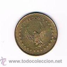 Monedas locales: FICHA DINERARIA MONEDA EMPRESA FREEDOM NO CASH VALUE DINERO COMERCIAL. Lote 51564142