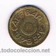 Monedas locales: FICHA DINERARIA MONEDA EMPRESA CAFE BAR DINERO COMERCIAL. Lote 51564180