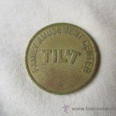 Monedas locales: FICHA: TILT. Lote 51586022