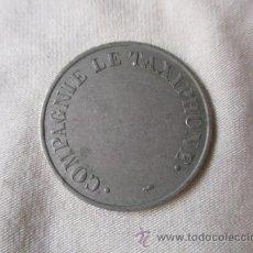 Monedas locales: FICHA: COMPAGNIE LE TAXIPHONE. Lote 51587029