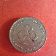 Monedas locales: FICHA, JETON, TOKEN, TOKKEN. FICHA DE CASINO. CASINOS DEL ALGARVE. VER FOTOS.. Lote 51805637