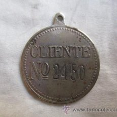 Monedas locales: ACREDITACION DE CLIENTE A LAMPARA Z Nº2450 PLAZA CATALUÑA 9 BARCELONA . Lote 52228339