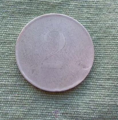 FIXA MONEDA COOPERATIVA MONEDA BASE (Numismática - España Modernas y Contemporáneas - Locales y Fichas Dinerarias y Comerciales)
