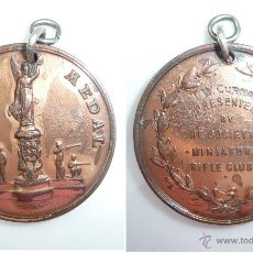 Monedas locales - MEDALLA **THE BELL MEDAL**T. W. CURNOW. GRAN BRETAÑA. THE SOCIETY OF MINIATURE RIFLE CLUB - 52909750