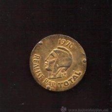 Monedas locales: FICHA DE 1970 REALISE PAR TOTAL, DE LA COLECCION PREMIOS NOBEL PREMIOS NOBEL ARISTIDE BRIAND. Lote 53216004