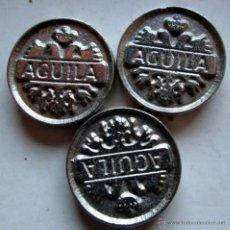 Monedas locales: 3 DEL AGUILA. Lote 54608787
