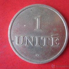 Monedas locales: FICHA TOKEN. 1 UNITÉ. Lote 53479837