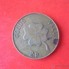Monedas locales: FICHA DE 2 PENCE PS. Lote 53480372