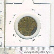 Monedas locales: ANTIGUA FICHA MONEDA BAZAR SEVILLANO NUMERO 3 , BRONCES PORCELANAS PERFUMERIA....... Lote 53533937
