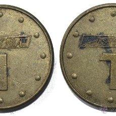 Monedas locales: FICHA TOKEN JETÓN **ISTOBAL** DIÁMETRO 24 MM. MÁS FICHAS EN MI PÁGINA. Lote 58657393