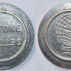 Monedas locales: FICHA TOKEN JETON. **GETTONE. MILANO-ITALIA**. DIÁMETRO 25 MM. Lote 53591720