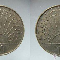 Monedas locales: FICHA O TOKEN CASINO ESTORIL. Lote 53713152
