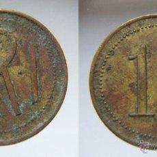 Monedas locales: RARA FICHA O TOKEN R.R.I 10. Lote 53713250