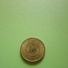 Monedas locales: FICHA DINERARIA MONEDA EMPRESA M DINERO COMERCIAL (PARECE RUSA). Lote 54079683